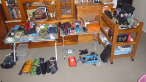 Packing of my Gear