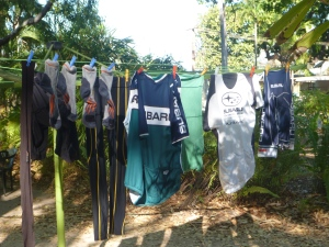 Finished my washing for the next stage