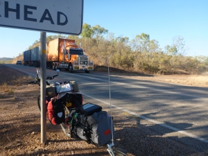 One of many road trains