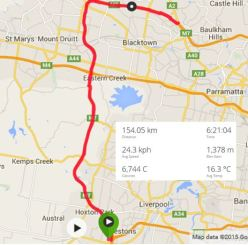 M7 Path Training Ride