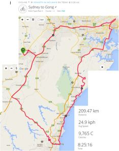 Sydney 2 Gong Ride